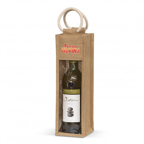 Serena Jute Wine Carrier - Printing Per Position