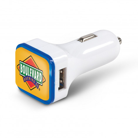 Cruze Dual Car Charger - Resin Coated Finish