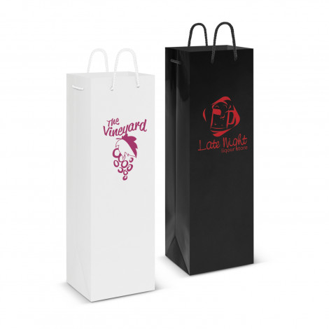 Laminated Wine Bag - Screen Print, From $1.21