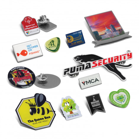 Lapel Badges - Digital Print