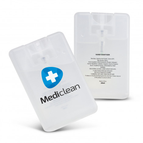 Hand Sanitiser Card - Printing Per Colour