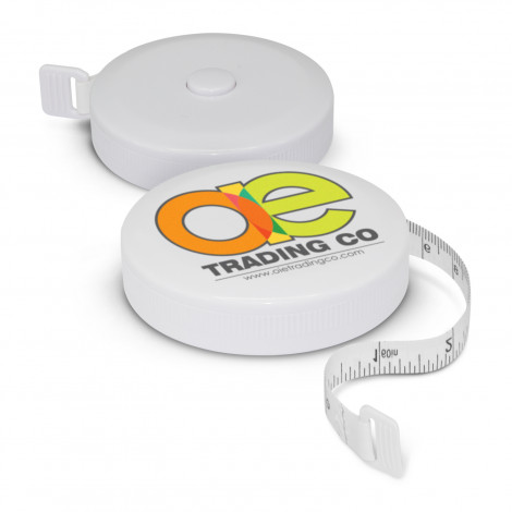 Round Tape Measure - Pad Print, From $0.74