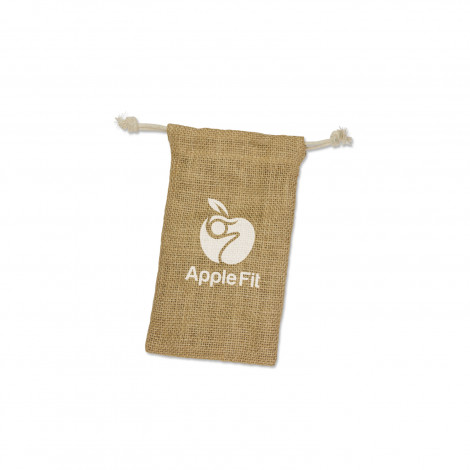 Jute Gift Bag - Small - Screen Print