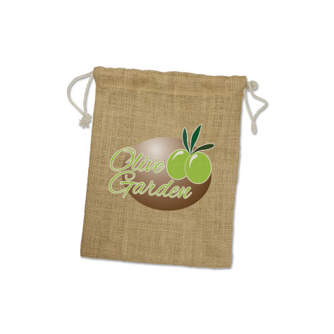 Jute Gift Bag - Medium - Screen Print