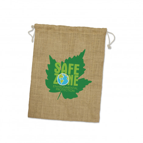 Jute Gift Bag - Large - Screen Print