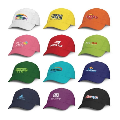 Sport 5 Panel Cap - Screen Printing Per Colour