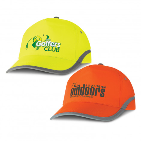 Flash 5 Panel Hi-Vis Cap - Screen Print, From $3.54