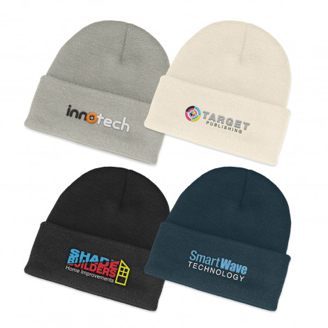 Everest Beanie - Embroidery per position (up to 10,000 stitches)