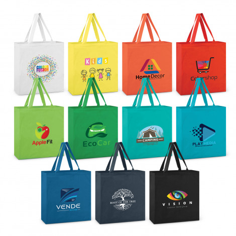 Carnaby Cotton Tote Bag - Colours - Printing Per Position
