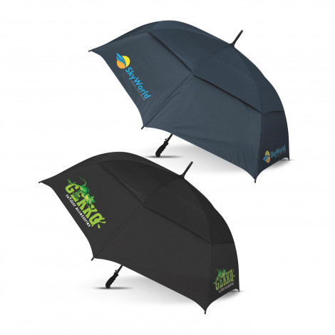 Trident Sports Umbrella - Colour Match - Screen Printing Per Panel