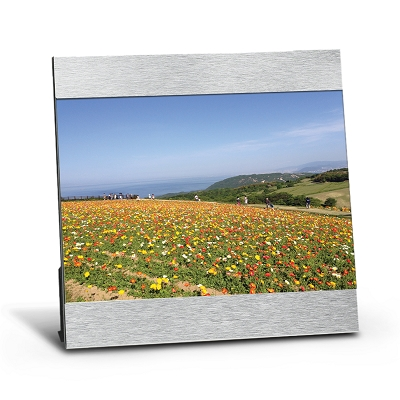 5in X 7in Aluminum Photo Frame - Printing 1 Colour