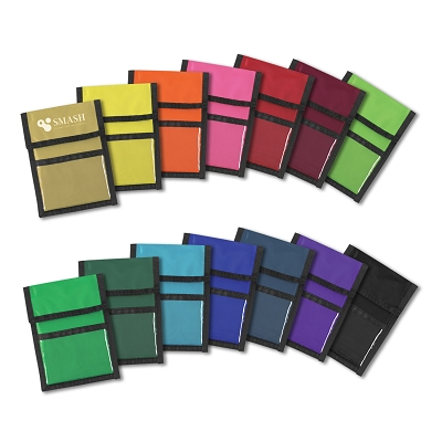 Nylon Wallet Badge and ID Holder - Printing 1 Colour