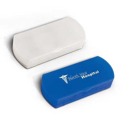 Pill Case and Bandage Dispenser - Pad Print