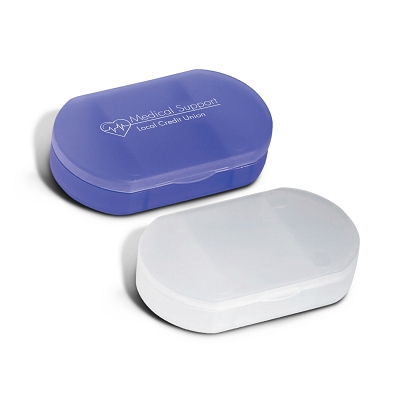 Oval Pill Case - Printing 1 Colour