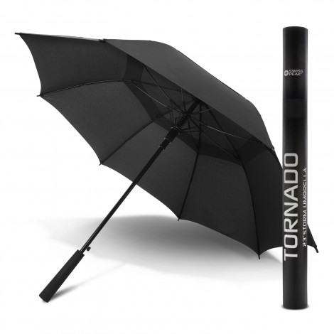 Swiss Peak Tornado 58cm Umbrella - Screen Printing Per Panel