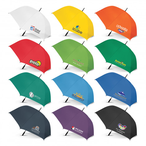 Hydra Sports Umbrella -  Colour Match - Screen Printing Per Panel
