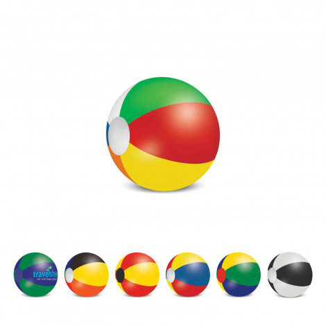 Beach Ball - 28cm Mix and Match - Printing Per Col/Pos