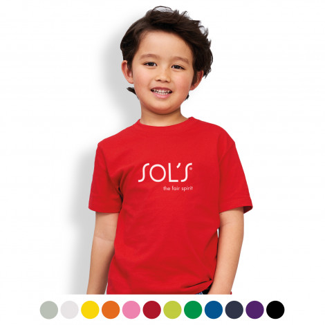 SOLS Imperial Kids T-Shirt - Printing Per Colour/Position