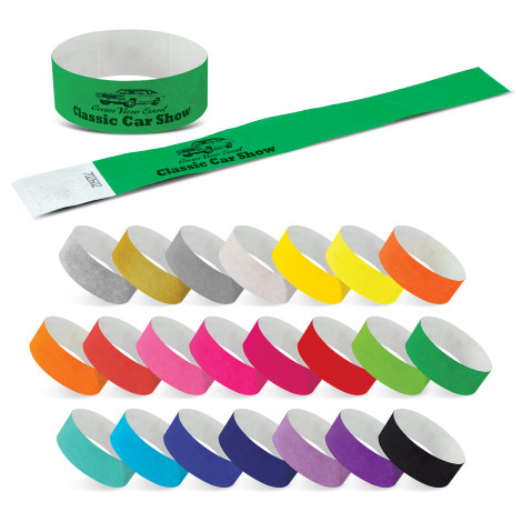 Tyvek Event Wrist Band - One Colour Print