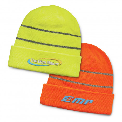 Everest Hi-Vis Cuff Beanie - Embroidery per position (up to 10,000 stitches)