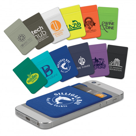 Lycra Phone Wallet - Screen Print