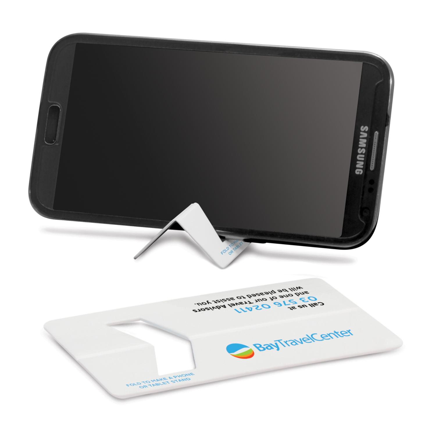 Business Card Phone Stand - Direct Digital Per Position