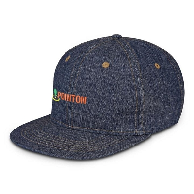 Denim Days Cotton Cap - Embroidery (up to 7 thread colours, 7000 stitches).