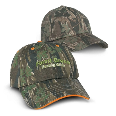 Camouflage Cap - Embroidery, From $11.5