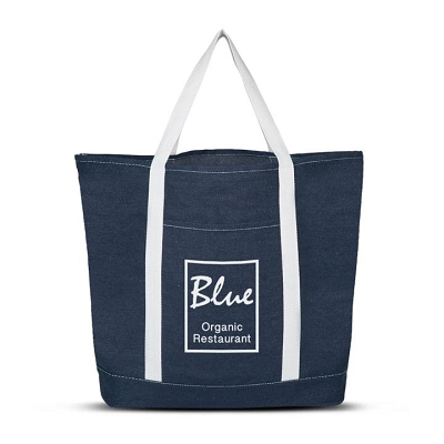 Denim Shopping Tote Bag - Screen Print, From $21.2