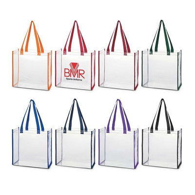 Clear Tote Bag - Screen Print, From $6.8