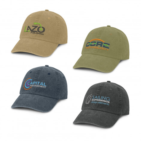 Stone Washed Premium Cap - Embroidery, From $7.44