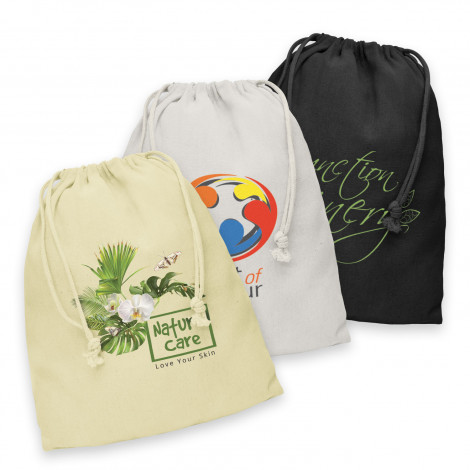 Cotton Gift Bag - Large - Printing Per Col/Pos
