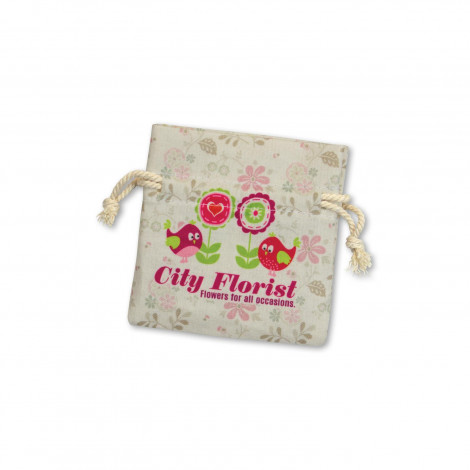 Turin Cotton Gift Bag - Small - Full Colour Print