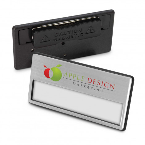 Magnetic Name Badge - Printing per Col/Pos