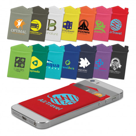 Lycra House Phone Wallet - Heat Transfer - Heat Transfer Per Colour (up to 4 colours)