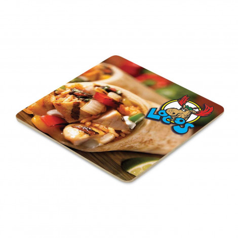 Cardboard Drink Coaster - Square - Offset Full Colour Printing