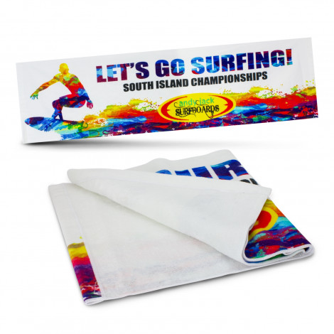 Marathon Sports Towel - Digital Print, From $9.12