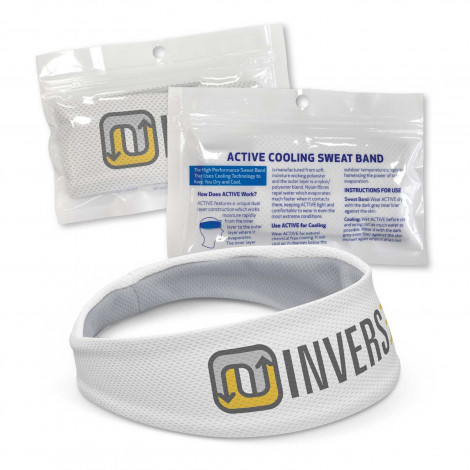 Active Cooling Sweat Band -  Full Colour Print