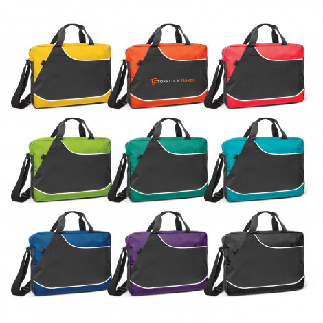 Centrix Conference Satchel - Printing Per Position (one colour)