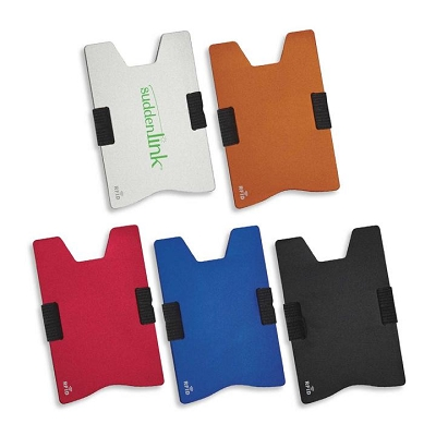 RFID Expandable Card Holder - Pad Print