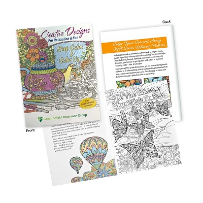 Adult Colouring Book - Printing 1 Colour