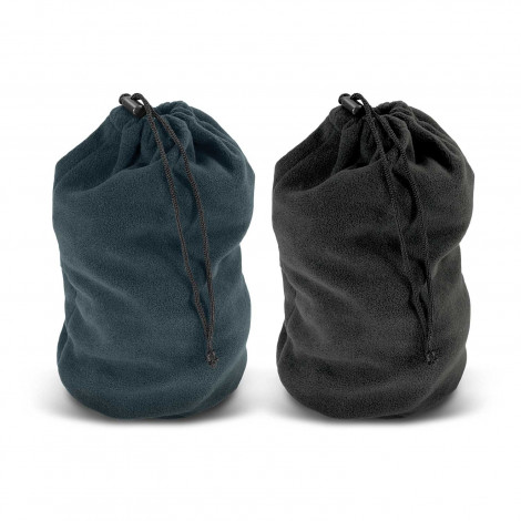 Polar Fleece Drawstring Bag - Embroidery per position (up to 10,000 stitches)