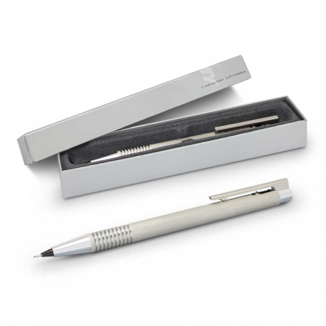 Lamy Logo Pencil - Brushed Steel - Printing Per Col/Pos