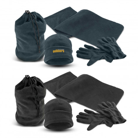 Seattle Polar Fleece Set - Embroidery per position (up to 10,000 stitches)