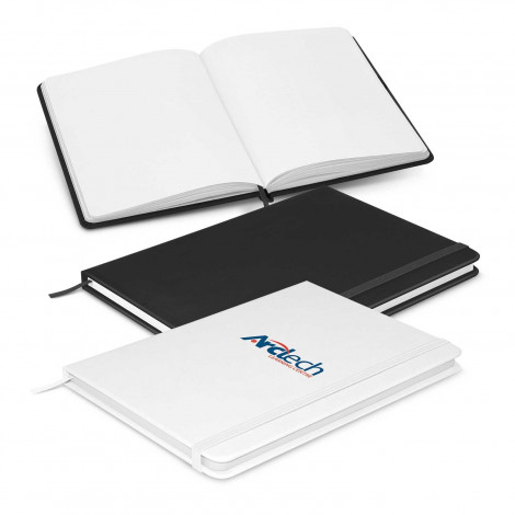 Omega Unlined Notebook - Printing Per Col/Pos
