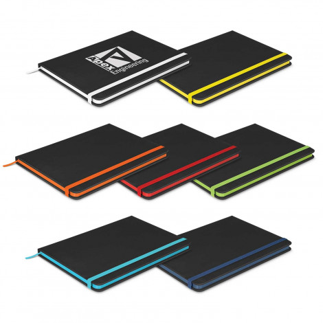 Omega Black Notebook - Printing Per Col/Pos