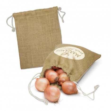 Jute Produce Bag - Medium - Screen Print