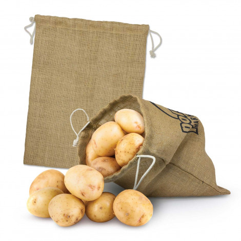 Jute Produce Bag - Large - Screen Print