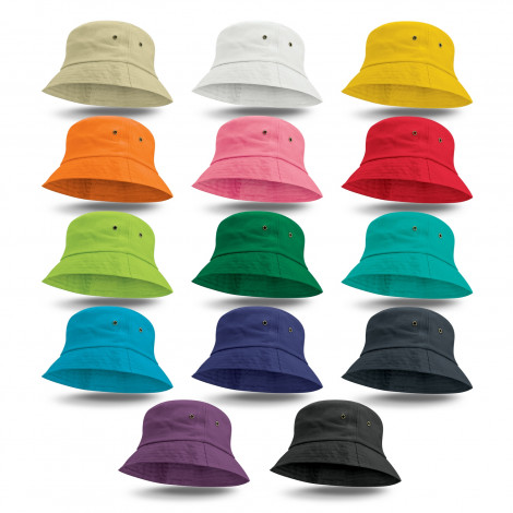 Bondi Premium Bucket Hat - Screen Print, From $3.92