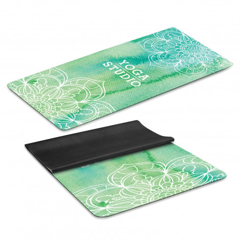 Mantra Yoga Mat - Full Colour Print
